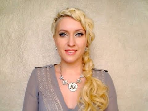 Braided hairstyles for long hair tutorial Easy pretty dutch braid updo for spring with extensions