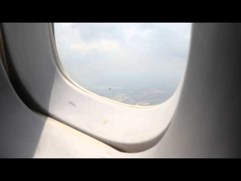The Persian Dream Iran Air onboard Boeing 747SP takeoff from the first row (1K) from Kuala Lumpur