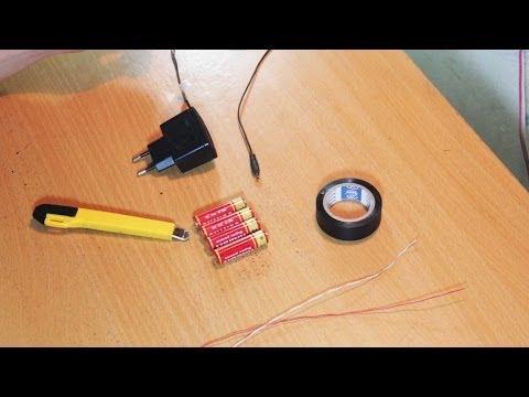 Hướng dẫn làm bộ sạc pin điện thoại (5V) bằng pin tiểu - Kỹ năng cơ bản khi đi phượt