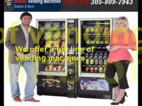 Miami Corporate Vending Machine | 305-809-7943