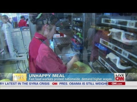 Fast Food Workers Strike