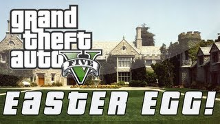 Grand Theft Auto 5 Playboy Mansion Easter Egg! (GTA V