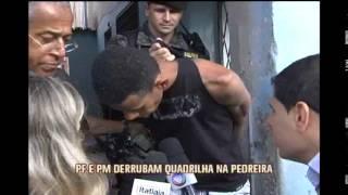 Policiais federais e militares cumprem 32 mandados de pris�o na Pedreira Prado Lopes