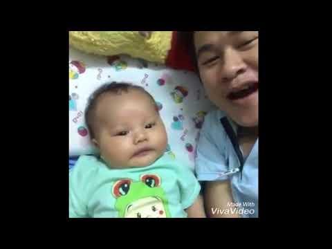 Hai bố con hát chúc mừng sinh nhật mẹ Tâm - Tốn Shakai Family
