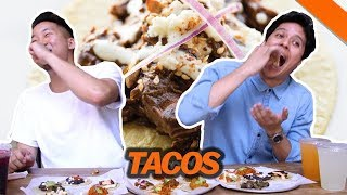 BEST HIPSTER TACOS IN L.A. w/ SUPEReeeGO (Guisados) - Fung Bros Food