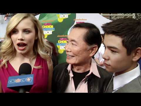 Gracie Dzienny, George Takei & Ryan Potter 2011 Kids' Choice Awards Interview