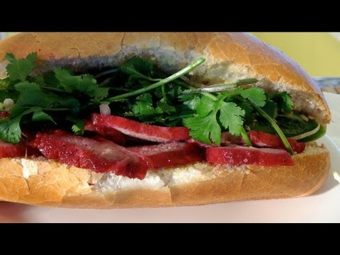 How To Make Banh Mi Thit Nuong-Vietnamese Sandwich Banh Mi Pork-Vietnamese Food