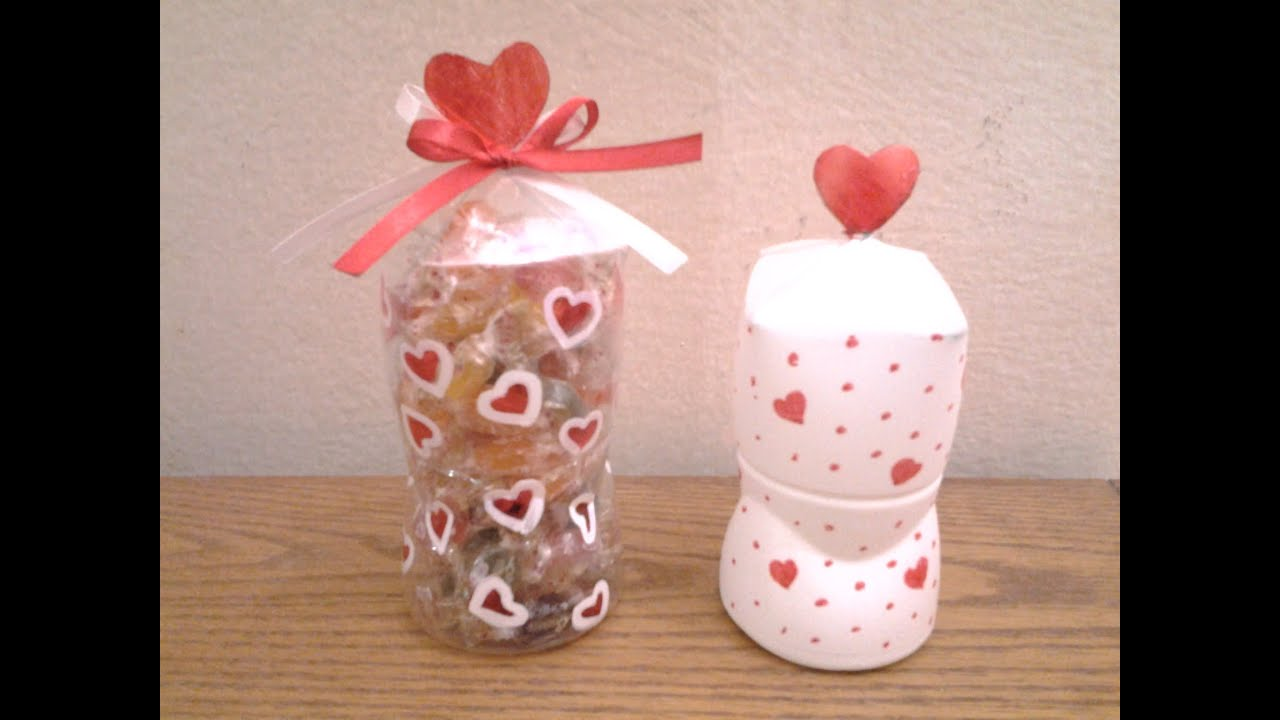 Best out of waste plastic bottle transformed to gift for Best out of plastic
