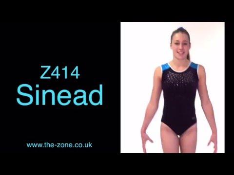 Sinead Sleeveless Gymnastics Leotard