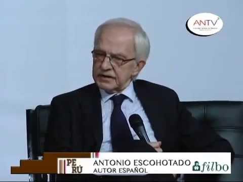 Comercio y drogas con Antonio Escohotado - Feria del Libro Bogotá 2014