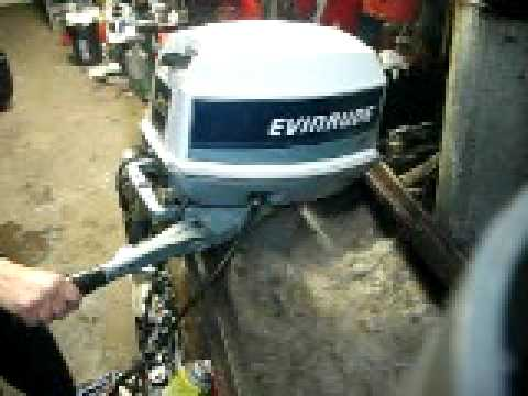 007 1984 Evinrude 25 Hp Short Shaft Tiller Electric Start