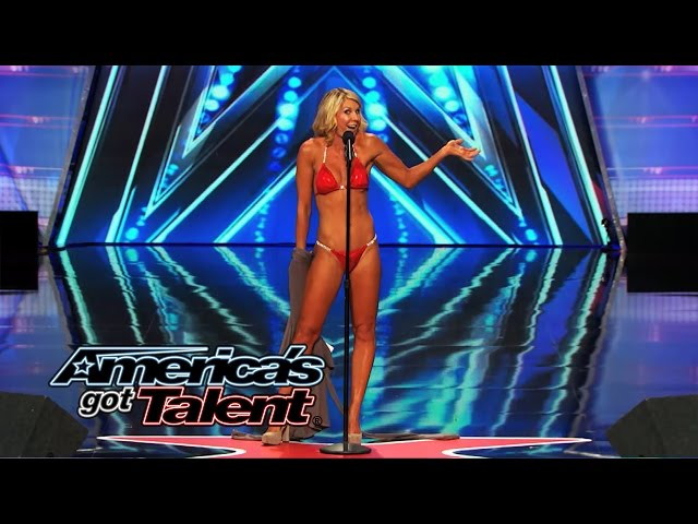 Maggie Lane: Opera Singer Strips Down and Sings in a Bikini - America's Got Talent 2014