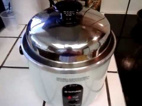 Tatung TAC-3A-SF 3 Cups Indirect Heating Rice Cooker Procedure