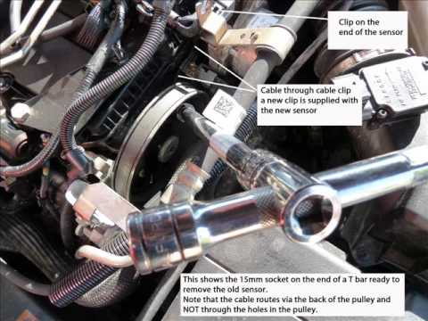 Cylinder Head Temperature Sensor Location And Removal Ford