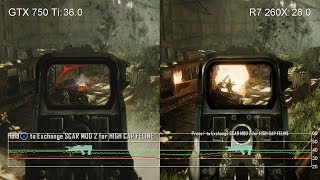 Crysis 3 1080p High: GTX 750 Ti Vs. R7 260X Frame-Rate