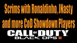 Scrims with Ronaldinho, Jnasty and more CoD Showdown Players