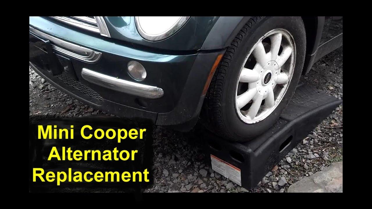 2002 mini cooper alternator replacement auto repair. Black Bedroom Furniture Sets. Home Design Ideas