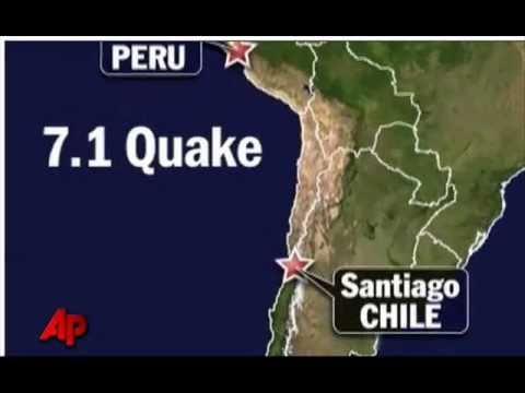 7.1 magnitude earthquake struck Chile