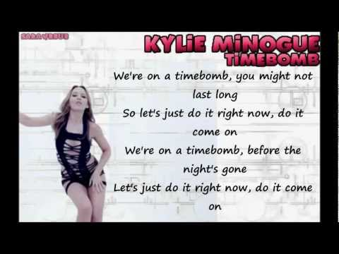 Kylie Minogue - Timebomb -fLTTmZWSRfc