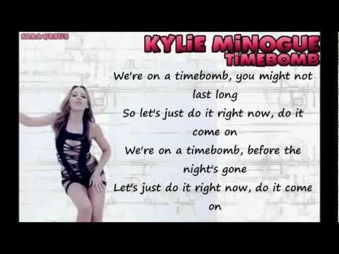 Kylie Minogue - Timebomb -fLTTmZWSRfc