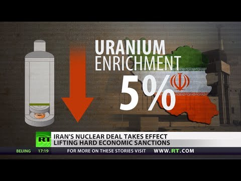 Historic Iran nuclear deal comes into force