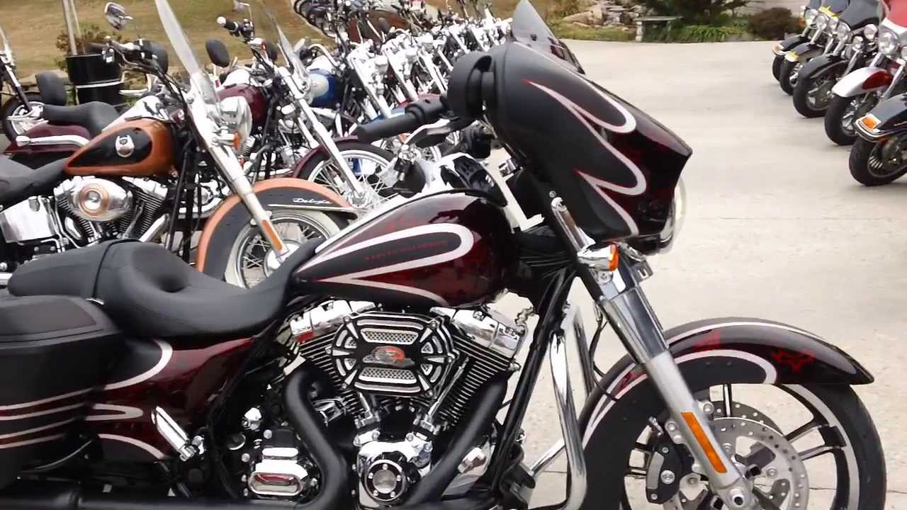 2014 Street Glide Harley-Davidson FLHX Custom Paint Set - YouTube