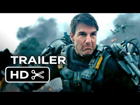 Edge Of Tomorrow Official Trailer #1 (2014) - Tom Cruise, Emily Blunt Movie HD,