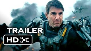 Edge Of Tomorrow Official Trailer #1 (2014) - Tom Cruise, Em...