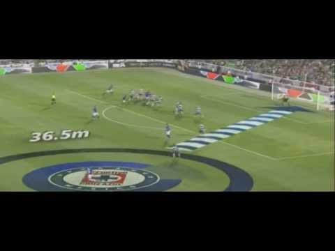 [HQ]CRUZ AZUL vs SANTOS (3-0) SEMI-FINAL IDA 2013