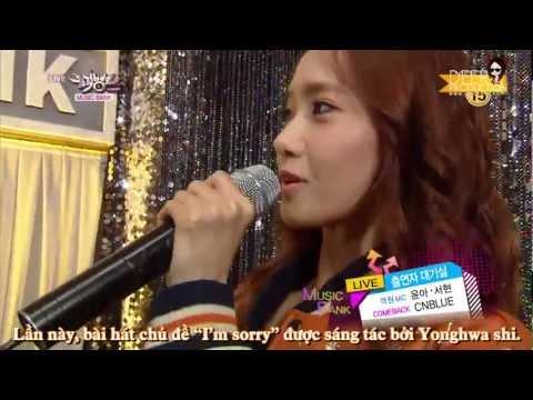 [Yoonavn][Vietsub] 130118 Yoona SeoHyun MC Cut @ KBS Music Bank