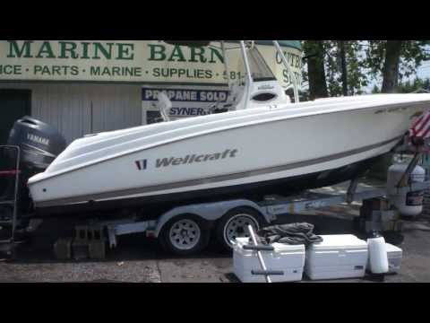"2008 Wellcraft 232 Fisherman 23"" Center Console For Sale~Yamaha 250 4 Stroke Motor~Beautiful Boat"