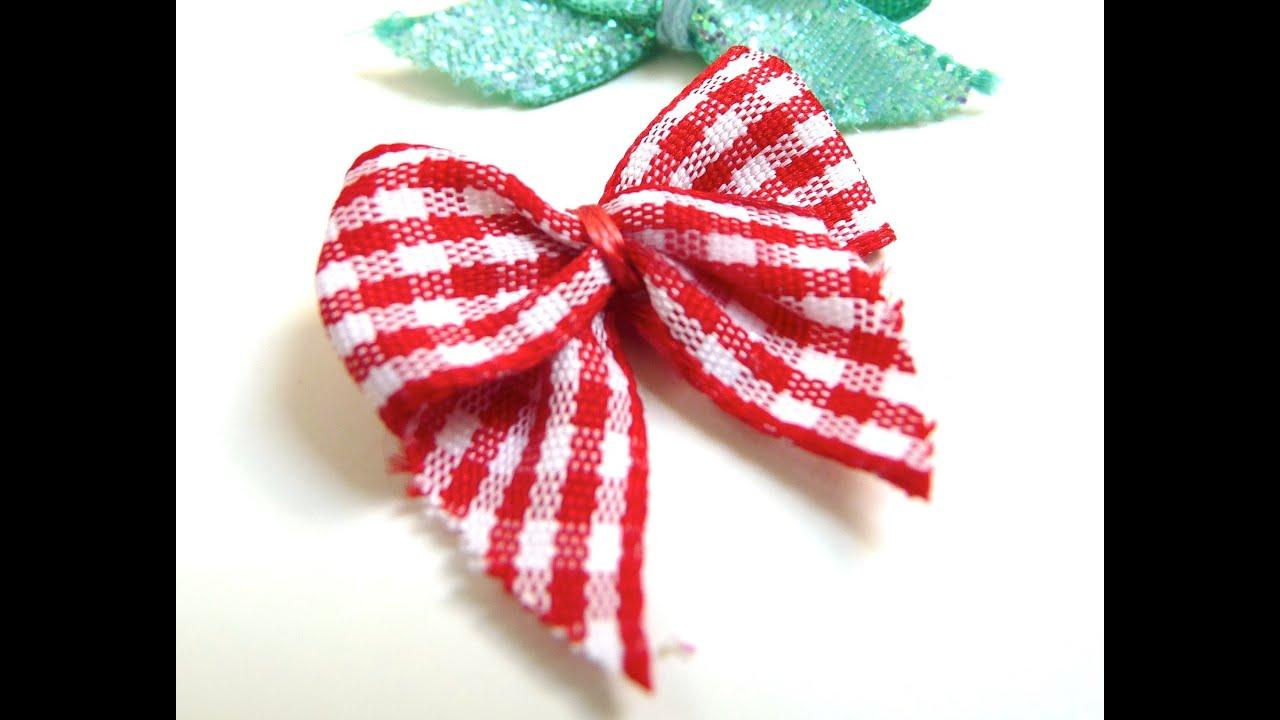 Tutoriel diy comment faire un noeud avec du ruban youtube - Comment faire un joli noeud ...