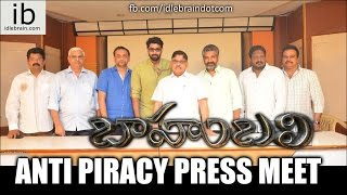 Baahubali Anti Piracy Press Meet