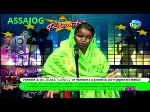 Djibouti: Jeunes Talents2  Amina-Zahra la voix d'Okar