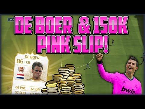 FIFA 14 Pink Slips - Frank De Boer und 150k [Deutsch]