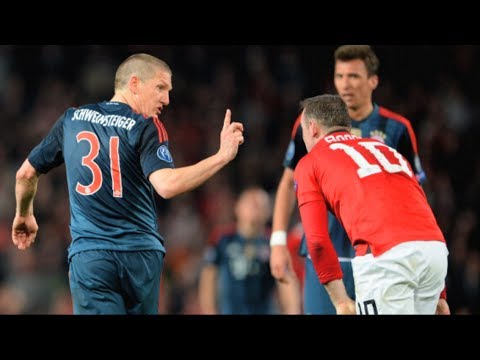 manchester united vs bayern munich 2014 1-1 Champions League