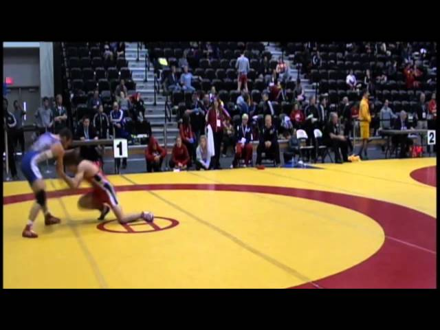 2014 CIS Championships: 54 kg Sam Jagas vs. Chris Waltner