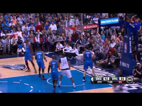 Oklahoma City Thunder vs Dallas Mavericks | March 25, 2014 | NBA 2013-14 Season