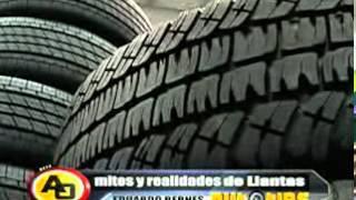 Tips sobre presión de aire en neumáticos