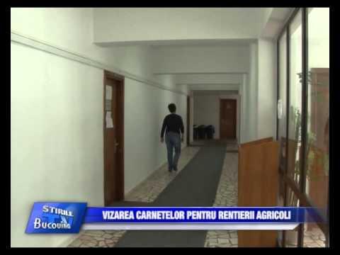 11 -  Vizarea carnetelor pentru rentierii agricoli Bucovina TV_ro
