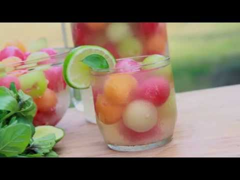 Melon Ball Punch Recipe (Summer in a Glass!)