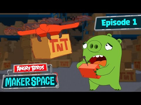 Angry Birds - Marker Space 1 - Drone Fail