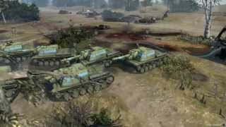 Company of Heroes 2 - The Power of 7 ISU-152 [1080p/HD]