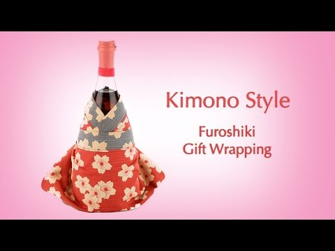 Dress up a bottle in chic japanese style youtube for Japanese inspired gifts
