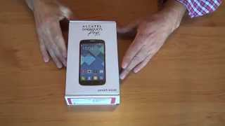 Unboxing: Smartphone ALCATEL OneTouch Pop C7.