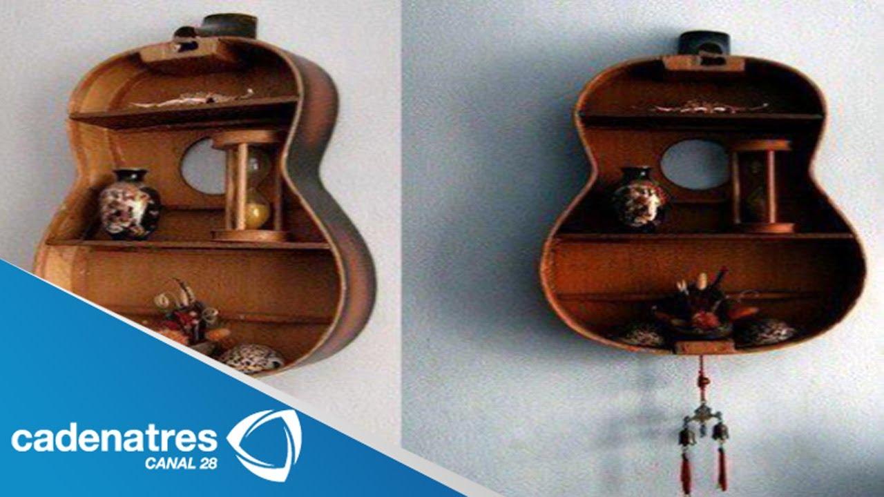 Guitarras hechas repisas guitars made shelves youtube for Mueble guitarras