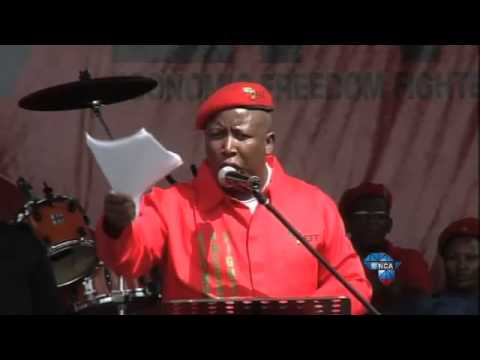 Julius Malema addresses the nation at the EFF's manifesto launch (Part12)