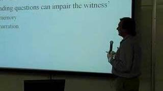 LECTURES: Professor Tom Lyon's Evidence Class 1/10/07