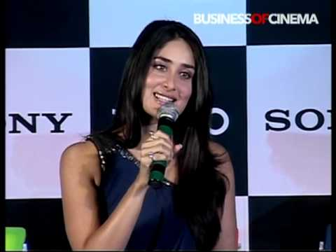 Bollywood diva Kareena Kapoor at Sony VAIO product launch