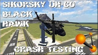 "BeamNG Drive Alpha Sikorsky UH-60 Black Hawk ""Beta"" ""Mini"